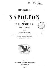 Histoire de Napoléon du consulat et de l'Empire