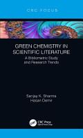 Green Chemistry in Scientific Literature PDF