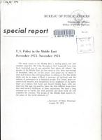 U S  Policy in the Middle East  December 1973 November 1974 PDF
