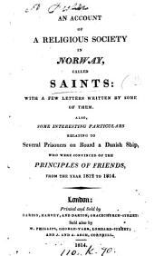 An account of a religious society in Norway, called Saints