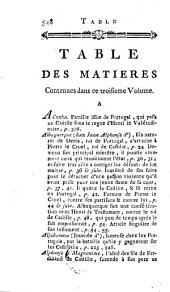 Histoire des révolutions d'Espagne: depuis la destruction de l'Empire des Goths, jusqu'à l'entiére & parfaite réunion des royaumes de Castille & d'Arragon en une seule monarchie