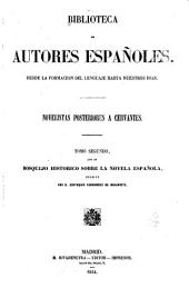 Novelistas posteriores a Cervantes: Volumen 33