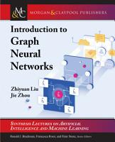 Introduction to Graph Neural Networks PDF