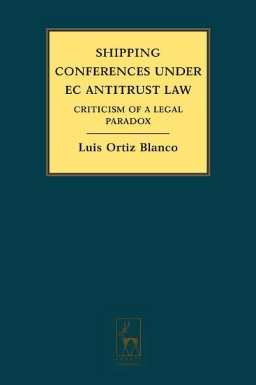 Shipping Conferences under EC Antitrust Law PDF