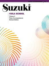 Suzuki Viola School - Volume 6 (Revised): Piano Accompaniment