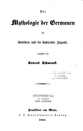 Die Mythologie der Germanen PDF