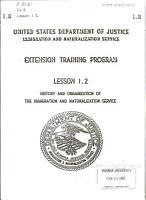 Extension Training Program PDF