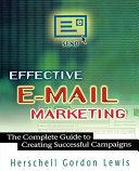 Effective E-mail Marketing