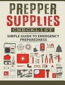 Prepper Supplies Checklist PDF