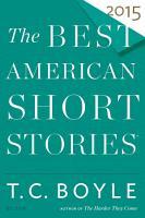 The Best American Short Stories 2015 PDF