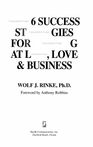 The 6 Success Strategies for Winning at Life  Love    Business PDF