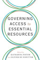 Governing Access to Essential Resources PDF