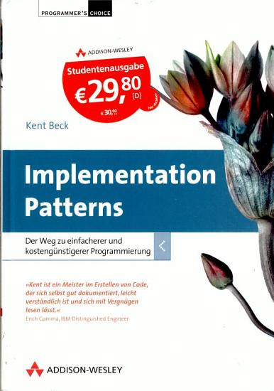 Implementation Patterns   Studentenausgabe PDF