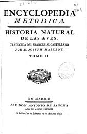 Encyclopedia metódica. Historia natural de las aves