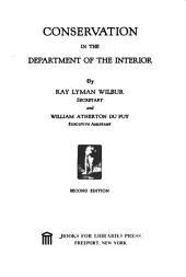 Conservation in the Department of the Interior