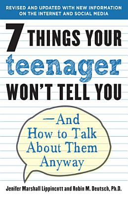 7 Things Your Teenager Won t Tell You PDF