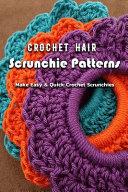 Crochet Hair Scrunchie Patterns