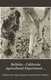 Bulletin - California Agricultural Experiment Station: Issues 116-145