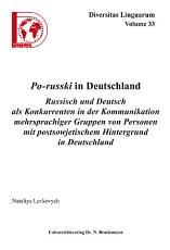 Po russki in Deutschland PDF