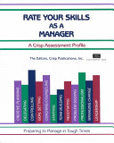 Download Rate Your Skills as a Manager Book