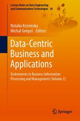 Data Centric Business and Applications PDF