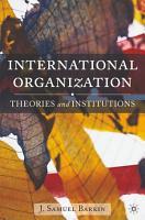 International Organization PDF
