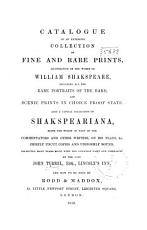 Catalogue of an Extensive Collection of Fine and Rare Prints  PDF
