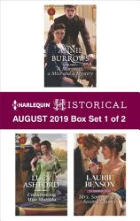 Harlequin Historical August 2019 Box Set 1 Of 2 Book PDF