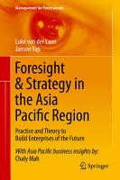 Foresight   Strategy in the Asia Pacific Region PDF