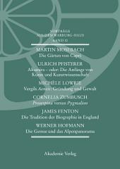 Vorträge aus dem Warburg-Haus: Band 10