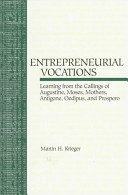 The Entrepreneurial Vocations Book PDF