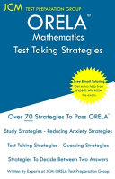 ORELA Mathematics   Test Taking Strategies