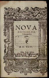 Nova Doctrina