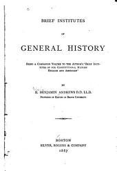 Brief Institutes of General History