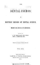 The Dental Cosmos: Volume 13