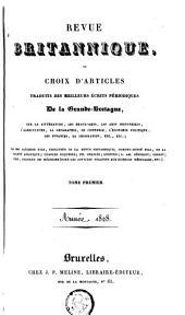Revue britannique: Choix d'articles traduits des meilleurs écrits périodiques de la Grande-Bretagne, Volume 6