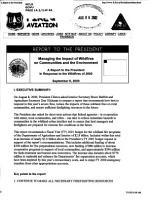 Managing the Impact of Wildfires on Communities and the Environment PDF