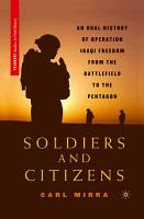 Soldiers and Citizens PDF