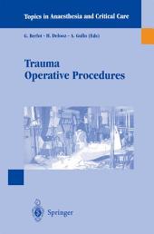 Trauma Operative Procedures