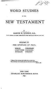 The Epistles of Paul  Romans  Corinthians  Ephesians  Philippians  Colossians  Philemon PDF