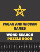 Pagan And Wiccan Names Word Search Puzzle Book