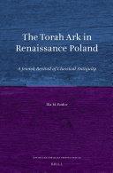 The Torah Ark in Renaissance Poland