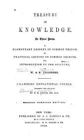 Treasury of Knowledge: In Three Parts