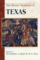 The Human Tradition in Texas PDF