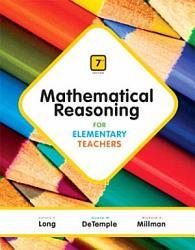 Mathematical Reasoning For Elementary Teachers Book PDF