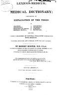 Lexicon Medicum PDF