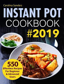 Instant Pot Cookbook #2019