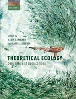 Theoretical Ecology PDF