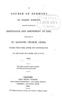 A Course of Sermons on Solemn Subjects PDF