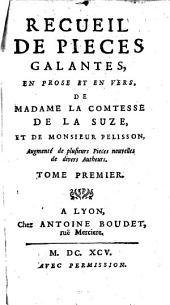 Recueil de pieces galantes, en prose et en vers: Volume1